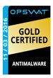 OPSWAT Gold Certified Comodo Internet Security