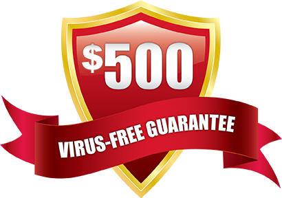 Virus Free Guarantee