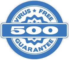 Virus Free Guarantee Award