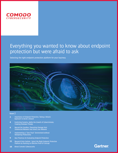 Gartner Endpoint Protection Report 2019