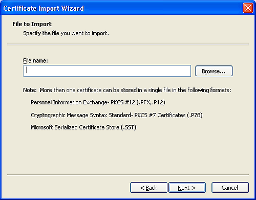Import and export your CPAC easily using Windows Live Mail