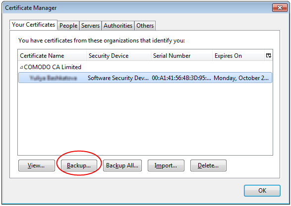 Importing and exporting CPAC with Comodo IceDragon Browser