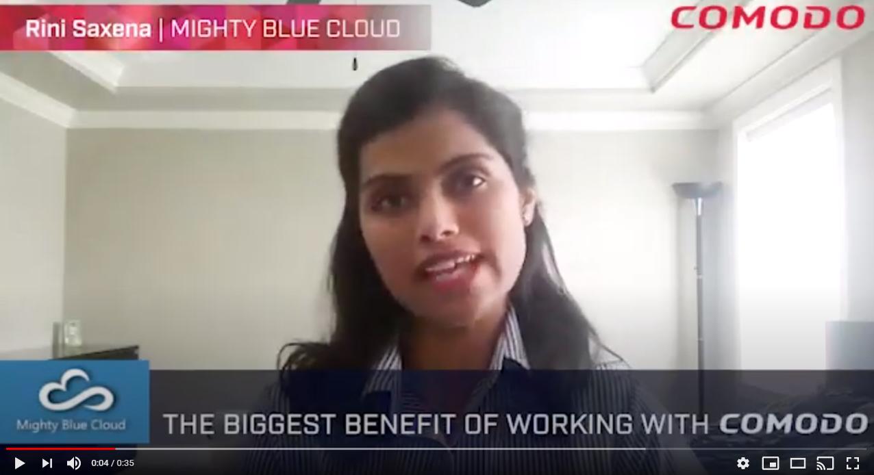 Mighty Blue Cloud Partner Video Thumbnail